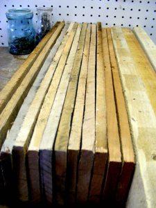 pile of slats